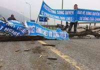 Chính quyền Việt Nam cứng rắn hơn với việc chặn quốc lộ biểu tình