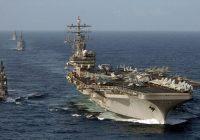 Siêu hàng không mẫu hạm Mỹ diễn tập tại Biển Đông