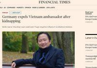 Đức trục xuất Đại sứ Việt Nam