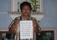 Nhà hoạt động Khúc Thừa Sơn bị công an sách nhiễu