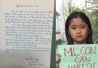Con gái blogger Mẹ Nấm kêu cứu bà Melania Trump