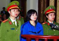 Nhà hoạt động Trần Thị Nga bị tuyên y án 9 năm tù giam