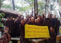 Phản đối việc cấm lễ đản sanh Huỳnh Giáo Chủ