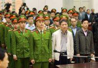 Tuyên án ông Thăng 13 năm tù và ông Thanh chung thân