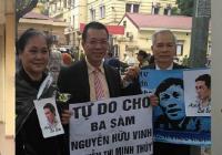 """HRW kêu gọi Việt Nam trả tự do cho ba """"nhà hoạt động dân chủ"""""""