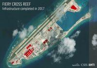Trung Quốc đã xây 7 căn cứ quân sự mới ở Biển Đông