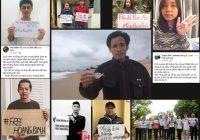 Phong trào đòi trả tự do cho Hoàng Đức Bình trên mạng xã hội