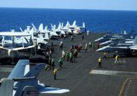 Biển Đông: Tàu sân bay Mỹ phô trương uy lực trên đường đến Manila
