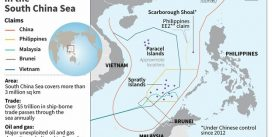 Trung Quốc đưa ra đường lười bò mới trên Biển Đông